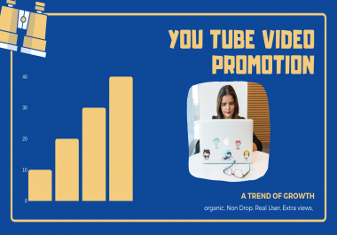 NON-DROP & HIGH QUALITY PROMOTION and SEO on your video