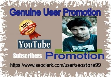 Organic& high quality promotion