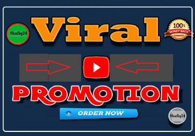 8 Thousand Audience Online Marketing and do massive video Promotion