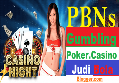 101 Casino, Gambling, Judi Bola,Poker Related PBNs Blog Post Blogger. com