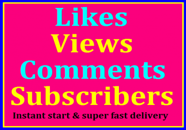 YouTube Promotion Package All In One Service Instantly Completed