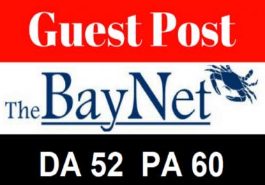 Publish guest post on thebaynet Dofollow Backlink