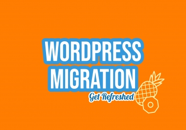 Transfer Backup Or Migrate Your Wordpress Website