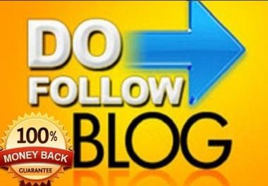 Do 200 unique domain Dofollow blog comments on cheapest price...
