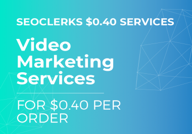 100 VIDEO EMBEDS - VIDEO SEO FOR ONLY FOURTY CENTS