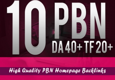 Build 10 Pbn Links Da 5 Plus Homepage Dofollow Pbn Links UPDATE GIG