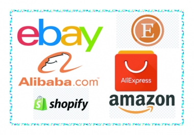 Do Promote your any ebay-amazon-ebay-etsy-alibaba-alieExpress STore Boost your sale