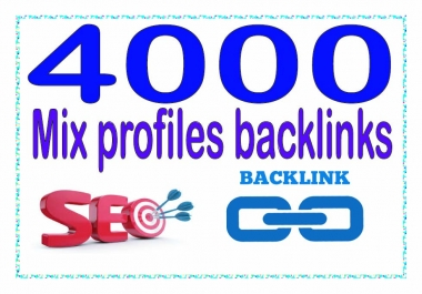 Create 4000 Mix profiles - Highly Authorized Google Dominating Backlinks