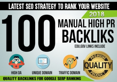 Build 100 Mixed PR9 SEO High Authority Backlinks DA 60-100 Increase Your Google Ranking