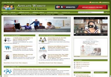 Fully Automated Wordpress Affiliate Marketing Website - 100% Autopilot - SEO Ready Website