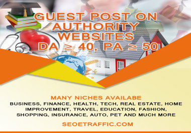 Write and Publish guest post article on DA70+ Authority Relevant website cklink