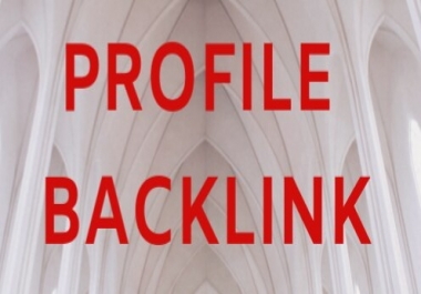 Give You 20+ High DA PA Profile Backlink with SEO Rank Your Websites