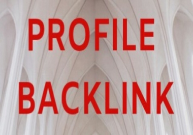 Proffesionally Create 100+ PR DA Profile Backlink For Your Websites