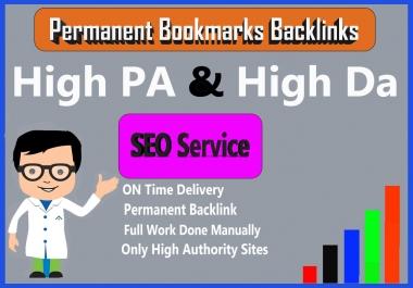 Manual Penguin Safe 20 High Authority Social Bookmarks Backlinks