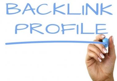 Create 15+ HQ DA PA Profile Backlinks Manually
