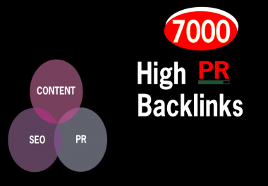 Exclusive Offer, Build 7000 Mix Contextual Live PR9, PR7,PR5 Backlinks For SEO