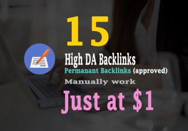 Google Top Ranking - 15 High Authority Backlinks DA90+ and PR9+ Websites For SEO