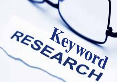 Give your niche relevant keyword research