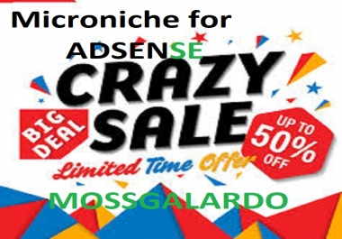 make wordpress unique adsense niche site for you