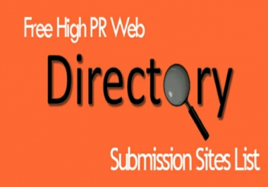 Instant Give You 200+ Directory Submission Sites List For Devlop Your Sites URL