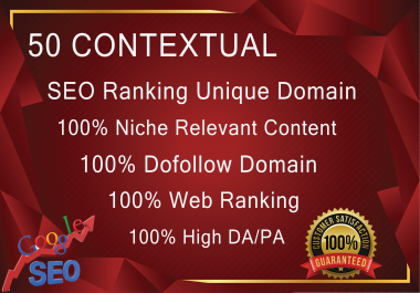 50 Niche Contextual And 2 Tire 100 Blog Comments Seo Backlinks High Da/Pa