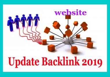 Boost your website by Update Backlink 2019 Sky your site