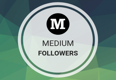Get Offer 100 Medium Followers for medium profile