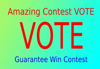 Give You 150 USA different IP,s contest votes Super Fast