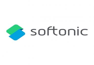 Get instantly 25 worldwide Softonic upvotes