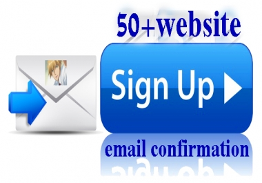 Create 51+Website Signup or Registration With Email Confirmation