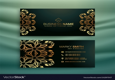 Business Card for your office, company and hotel with unlimited revisions