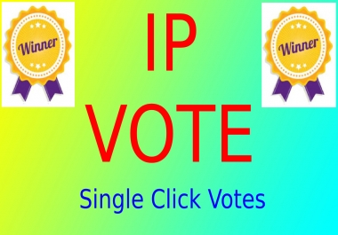 1000 Targated USA Different IP Votes, Single IP Votes For Any Contest