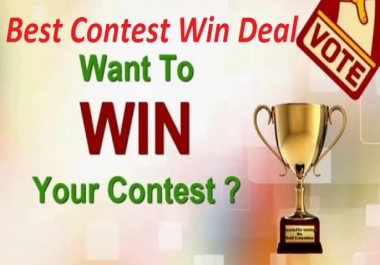 Winning deal your online contest votes