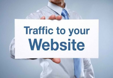Get Organic High Quality Website or Webpage Traffic