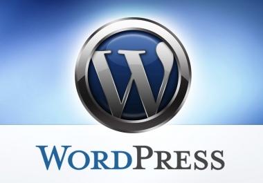 Make a website on WordPress