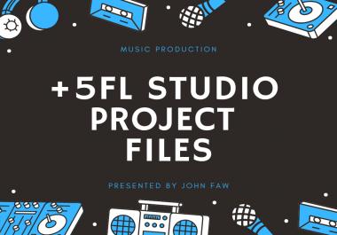 Get +5 Professional FL Studio EDM Project Files - Music Production