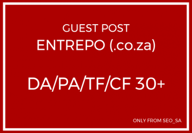 Manually Create Guest Post on Entrepo (.co.za)
