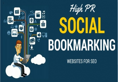 Instant 25 live Social Bookmarking links For Your Website or page or video within 24 hours