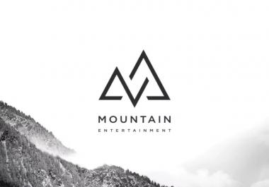 Professionally Design Modern Text Or Badge Logo Design