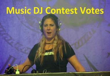 Promote 100 Any Music DJ Contest Votes With Real Different IP, s