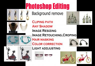 do any photo editing ,background removal,resizing,retouching work