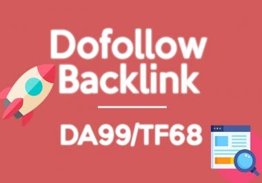 Permanent Dofollow DA99 /  TF68