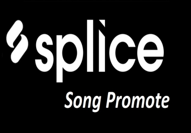 Give you 50 Real USA Splice Promotion Your Remix