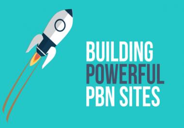 10 PBN Homepage Backlinks With DA 30 To 50 TF 15 + CF 25+