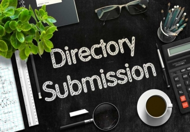 Manual submit your site in 100 directories