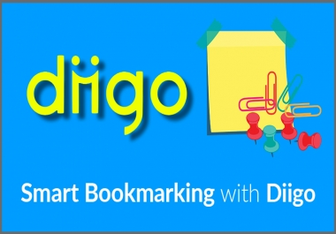 HQ 80 Diigo Bookmark backlink for PR9 site