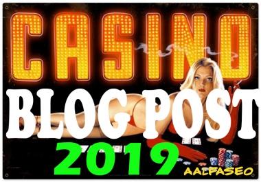 Top 51 Gambling/Casino/Poker Related Web2.0 Properties .Blog Links increase Google Rank