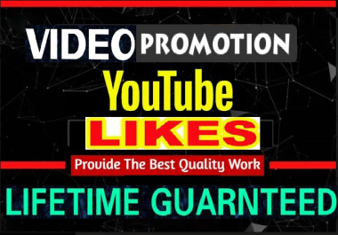 NON DROP Video Likes Promotion  Marketing Social Media