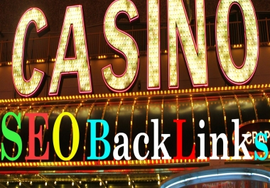 400 Manual With 200K Tire-2 Backlinks For CASINO/GAMBLING/POKER Evaluate Google 1st Rank