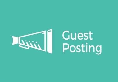 Write and Guest Post Articles on 5 Websites with DA50+